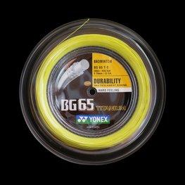 YONEX BG65 Titanium Geel 200 METER