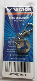 Victor Trolley Coin Keychain