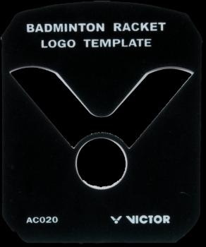 VICTOR Logo Schablone